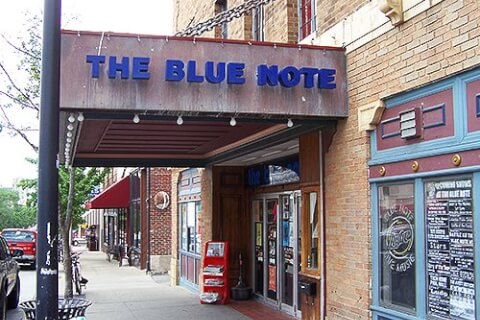 The Blue Note exterior sign