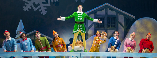 elf musical performers on stage