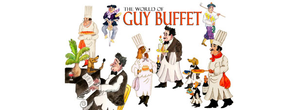 Guy Buffet Show ad