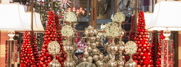 rogers garden christmas boutique with ornament trees