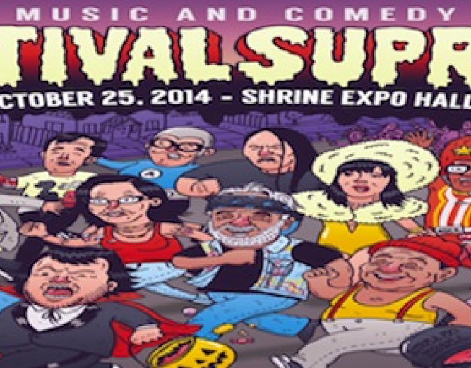 Festival Supreme illustration Ad