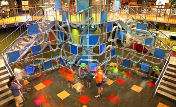 little rock arkansas museum of discovery jungle gym