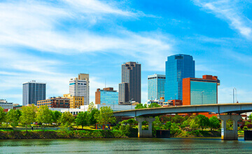 Little rock arkansas downtown