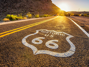 Route 66 highway