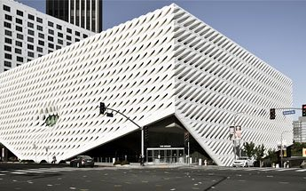 Broad Museum modern white building