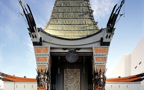 The Historic Graumans Chinese Theater Stands Tall