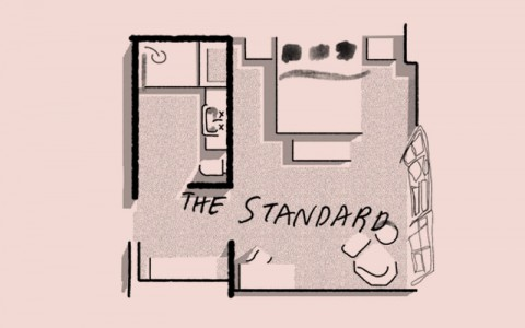 Clermont Sleep Rooms Standard floor plan