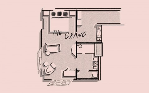 Clermont Sleep Rooms Grand floor plan