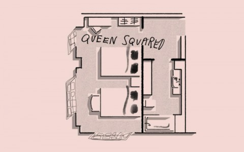 Clermont Sleep Rooms Queen floor plan