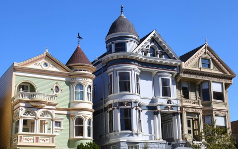 homes on the san francisco streets