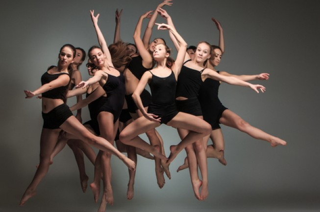 a group of modern ballet dancers