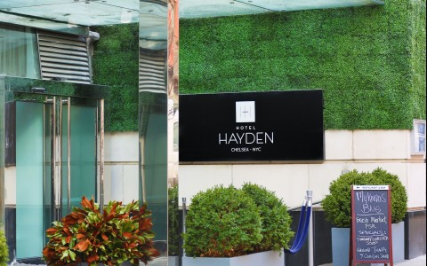 Hayden Exterior with Logo