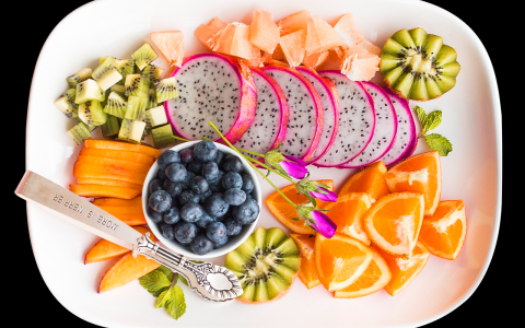 healthy fruit platter
