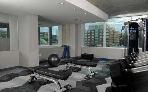 hotel indigo fitness center