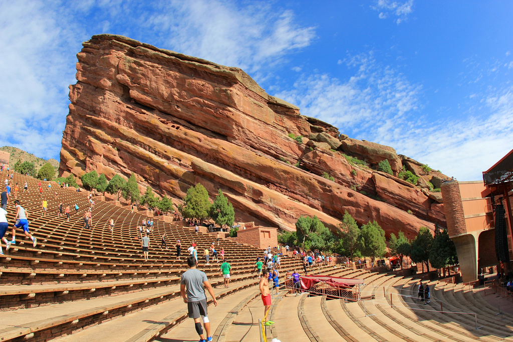 The Red Rocks Amphitheater Takes Music To A Spiritual Level