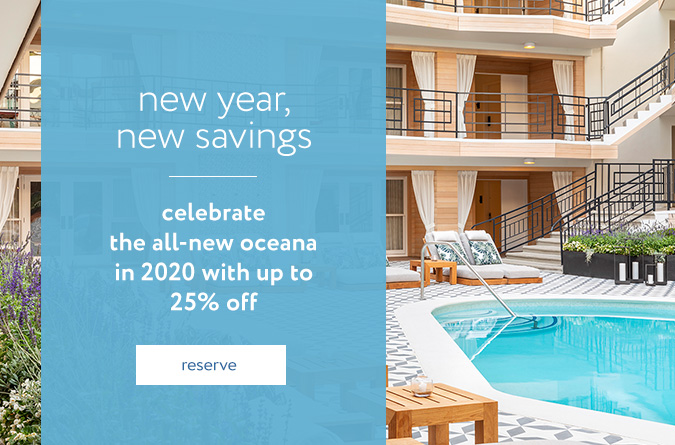 oceana popup new year new savings