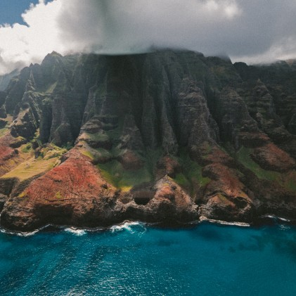 Cliff in Hawaii