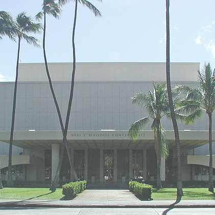 Neal S. Blaisdell Center