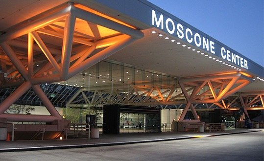 moscone convention center entrance