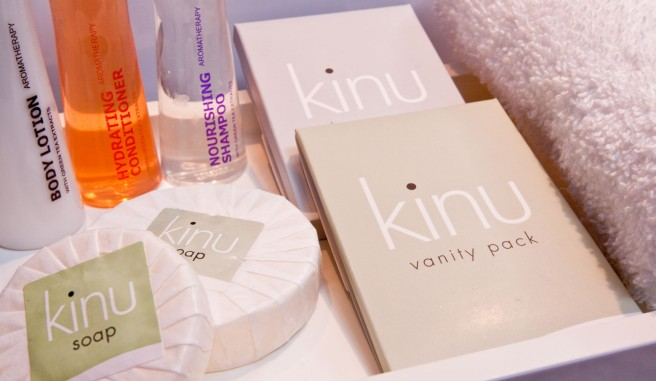 Kinu brand toiletries