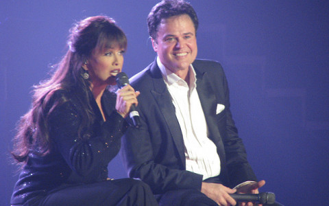 Donny and Marie Osmond Onstage