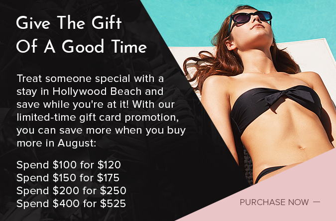 Hyde Beach House Gift Card Promotion popup