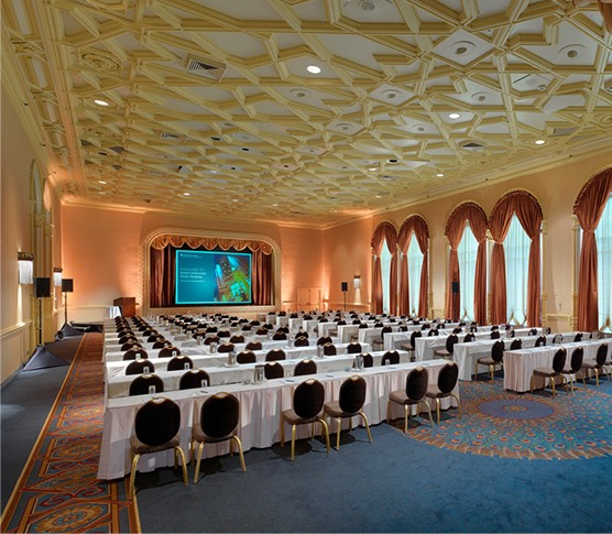 large meeting space with many chairs
