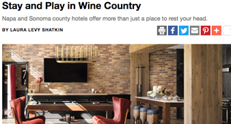 napa sonoma magazine online article screenshot
