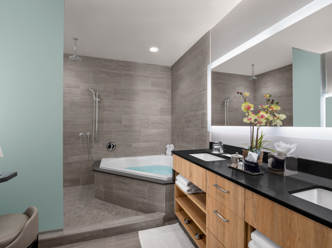 residential penthouse bathrooms