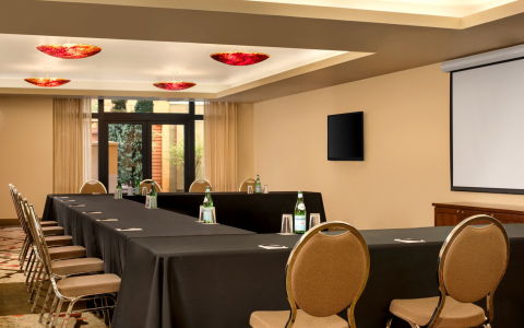conference room meeting space