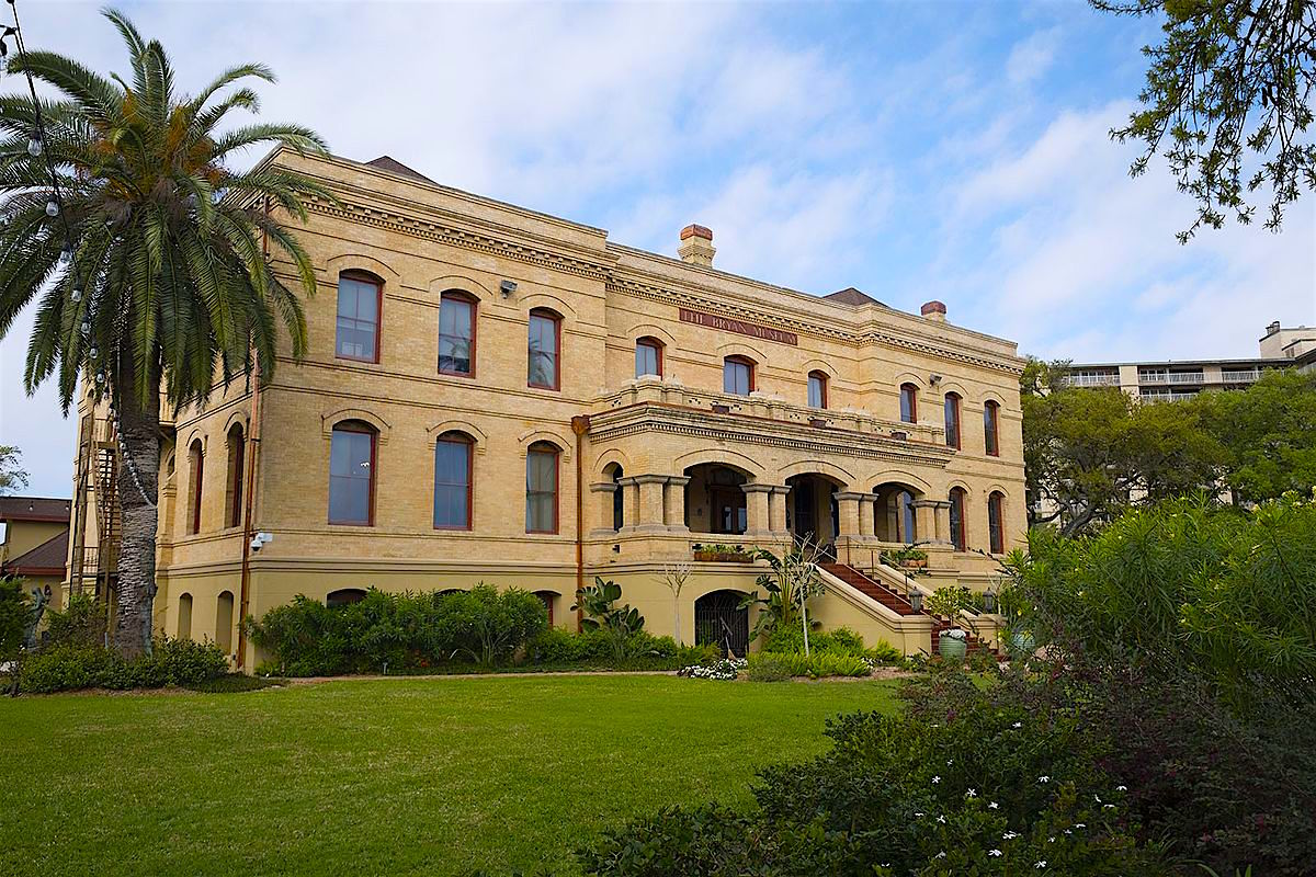 Exterior of Bryan Museum in Galveston