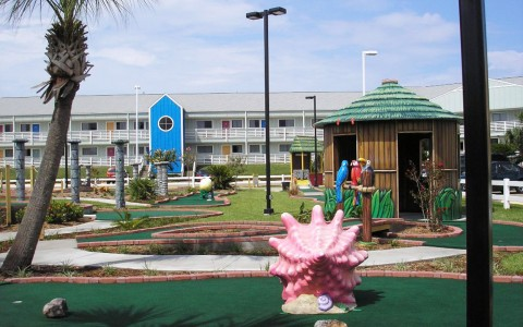 Moody Gardens Mini Golf Course