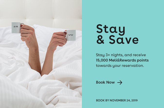 book 3 nights and receive 15000 points towards your stay