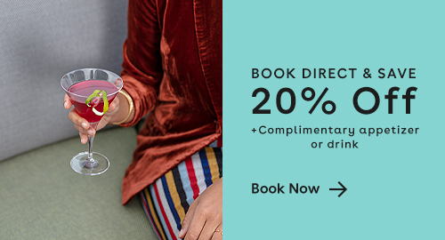 click to book direct and save 20%