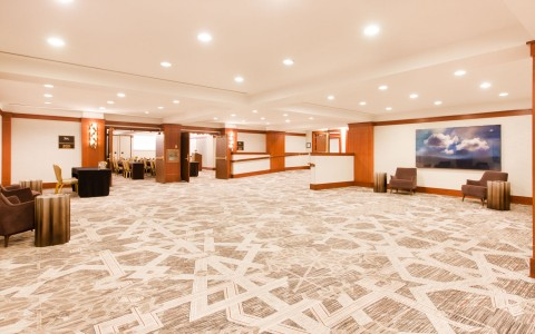 large lobby space