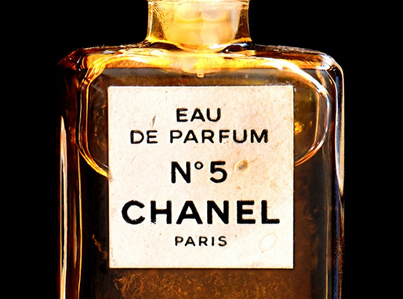 chanel perfume bottle painting