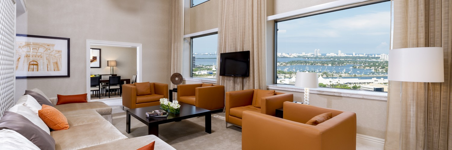 intercontinental miami royal palm presidential suite