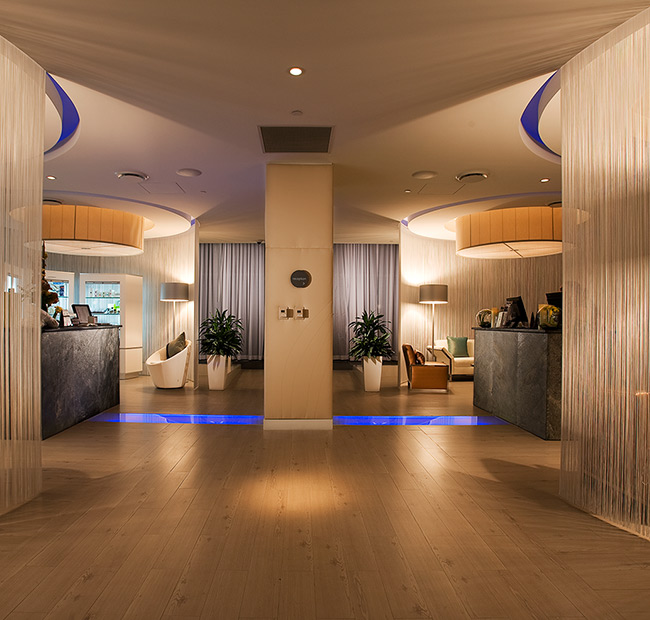 intercontinental miami myspa interior