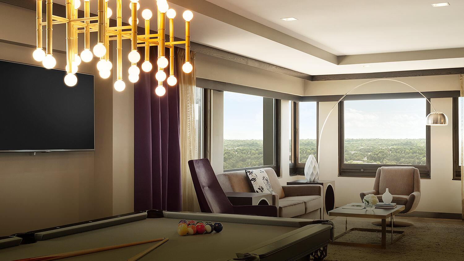 intercontinental saint paul riverfront penthouse suite