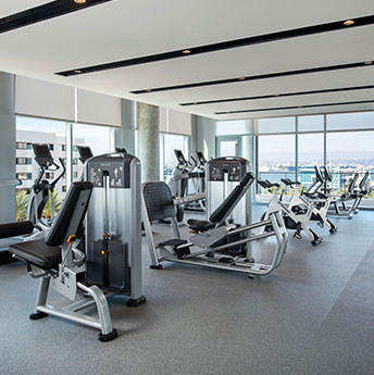Fitness Center Inset