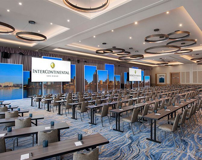 Intercontinental san diego Meetings Pacific Ballroom