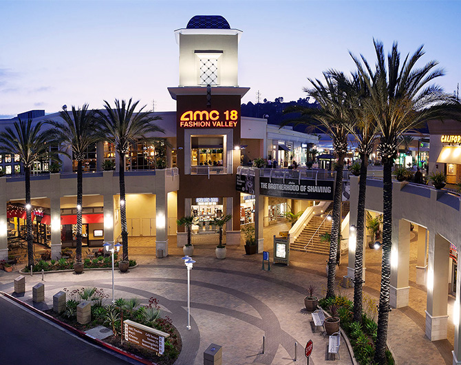 San Diego fashion Valley