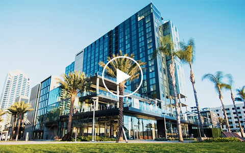 Intercontinental san diego grand opening video