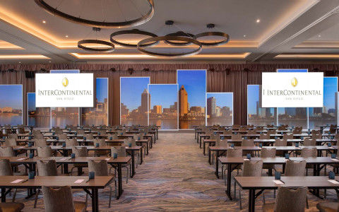 Intercontinental san diego classroom meeting room