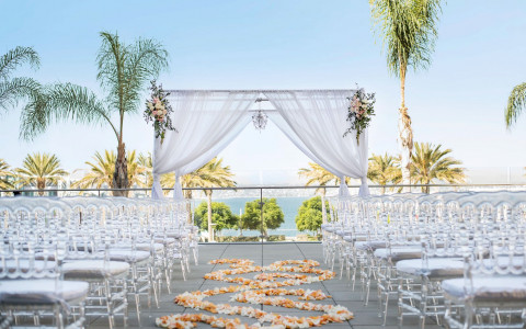 intercontinental san diego outdoor wedding space
