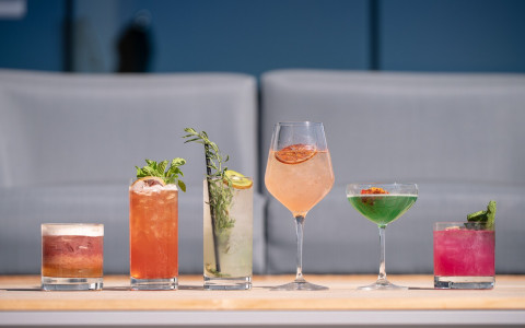 line of crafted cocktails