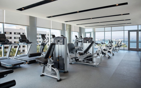 Intercontinental san diego fitness center