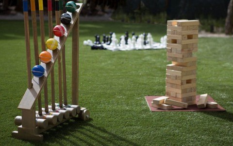 giant jenga, chess and outdoor games