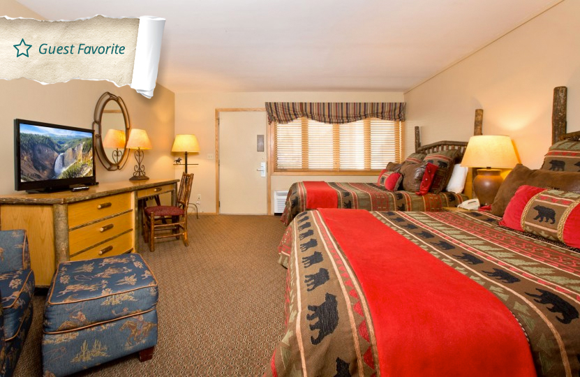 Jackson hole accommodations condos jackson hole lodge hotel room with two queen beds publicscrutiny Images