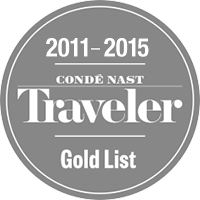 Conde Nast Award badge 2011-2015